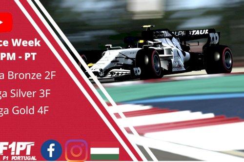 A Liga F1 Portugal viaja até ao circuito da Hungria para o arranque da 8º corrida do campeonato.