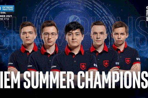 Gambit conquista a IEM Summer