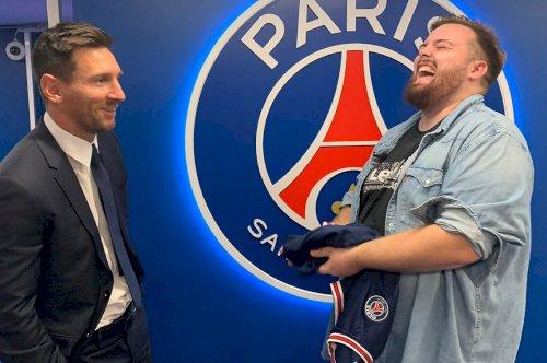 Messi esteve live na Twitch com Ibai