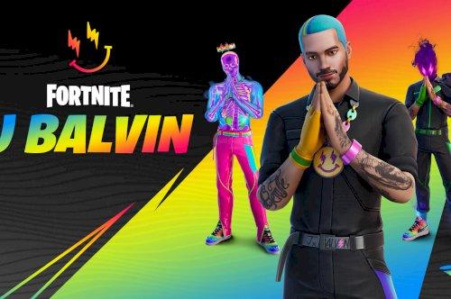 J Balvin chega ao Fortnite