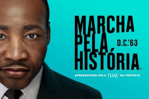 Martin Luther King Jr. celebrado no Fortnite