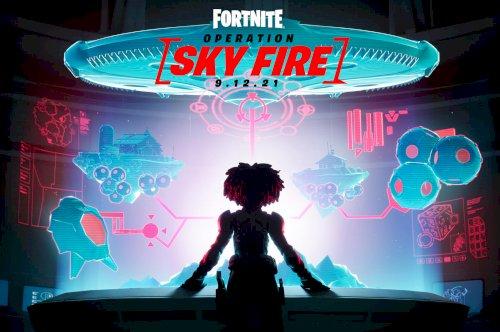 Fortnite apresenta a missão Operation: Sky Fire