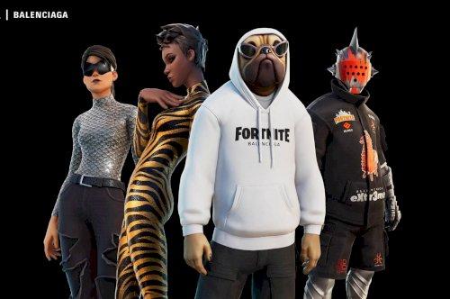 Fortnite fecha parceria com a Balenciaga