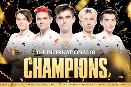 Team Spirit conquista o The International 10