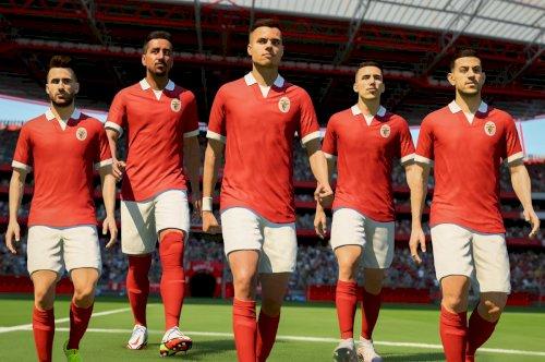 Benfica recebe equipamento clássico no FUT