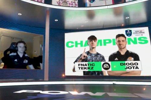 Diogo Jota e Tekkz conquistam o EA SPORTS FIFA 22 Challenge powered by Adidas