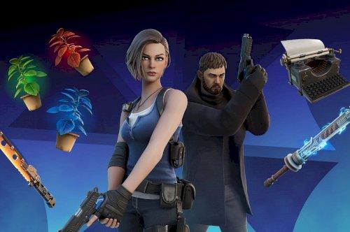 Fortnite anuncia skins da dupla icónica Resident Evil