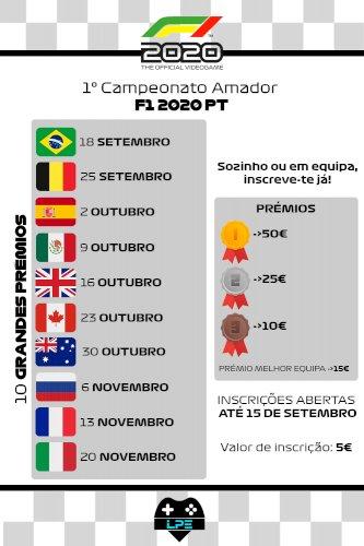 Liga Amadora F1 by LPE